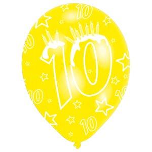 Festa dei bambini: Cifra 10 - Set di 6