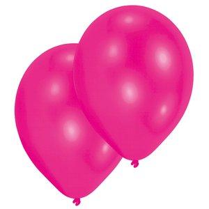 Festa di compleanno - Set di 10 (rosa fucsia)
