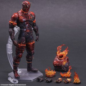 Metal Gear Solid V: Play Arts Kai - Man on Fire