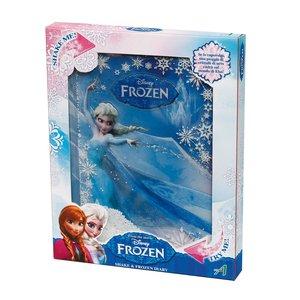 Frozen - Il regno di ghiaccio: Diario con effetto neve
