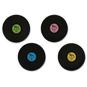 Schallplatte Retro Style (4er Set)