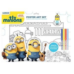 Minions (con poster di coloritura)