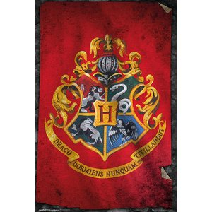 Harry Potter: Hogwarts Flag