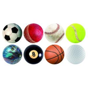 Sous-Bock - Balles du sport (Set de 24)