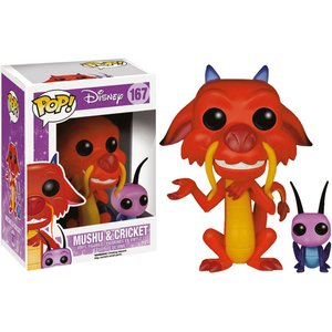 POP! Disney - Mulan: Mushu & Cri-Kee