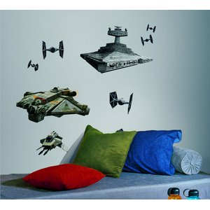 Star Wars: Characters Space Ships (9 Pezzi)
