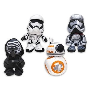 Star Wars - Episode VII: 4 Characters 17cm