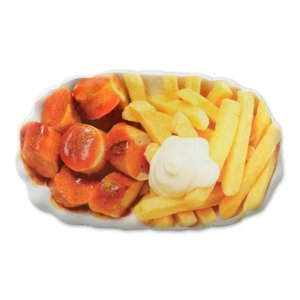 Currywurst & Pommes