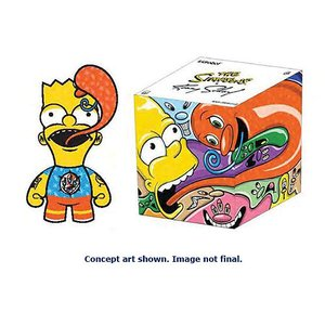 Simpsons - by Kenny Scharf: Bart