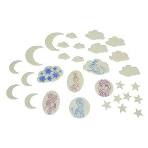 Frozen - Die Eiskönigin: Monde und Sterne (30er Set)