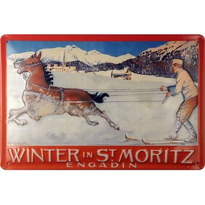 Winter in St. Moritz Engadin
