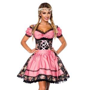 Oktoberfest - Dirndl Pink Flower incl. blouse