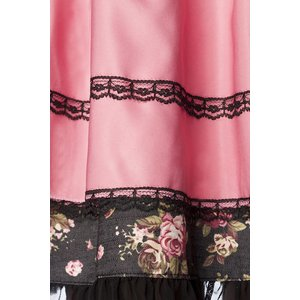 Oktoberfest - Dirndl Pink Flower inkl. Bluse