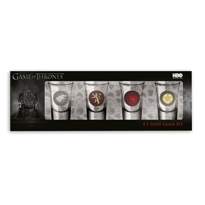 Game of Thrones: Wappen (4er Set)