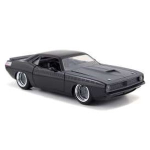 Fast & Furious - Diecast Modell: 1/24 1970 Plymouth Letty's Barracuda
