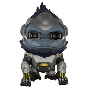 Overwatch Super Sized POP! Games Vinyl Figur Winston 14 cm