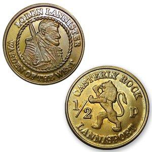 Game of Thrones: Münzen Half-Pennies (6er Set)