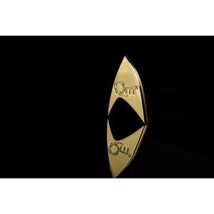 Star Trek: 1/1 Sternenflottenabzeichen 50th Anniversary