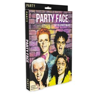 Party Face (6 pièces)