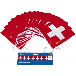 Schweiz Fahnenkette