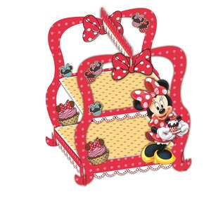Minnie Mouse Café Cupcake Ständer