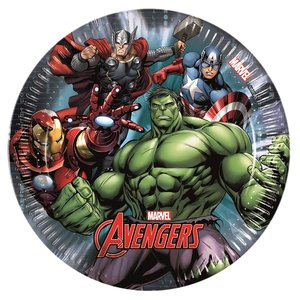 Avengers - Power: Medium (8er Set)
