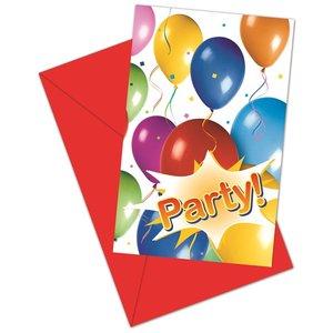 Balloons Fiesta (6 pezzi)