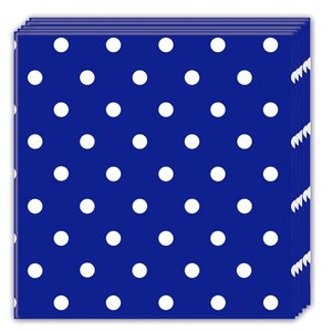 Blue Royal Dots (20er Set)