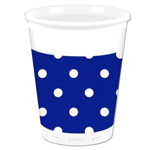 Blue Royal Dots (8er Set)