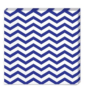 Blue Chevron (20er Set)