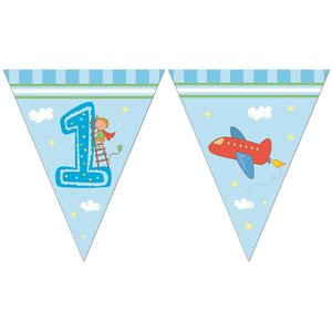 Boys First Birthday - Wimpel