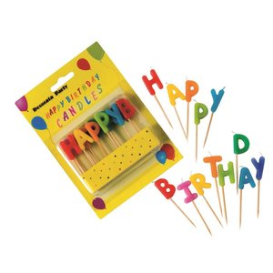 Numeral & Birthday - Happy Birthday