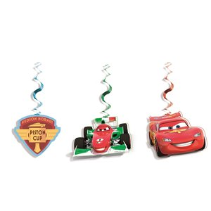 Cars Neon - Hanging Cut Outs