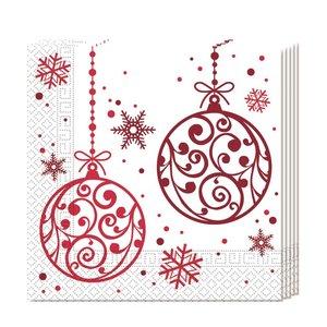 Weihnachten Christmas Red Balls (20er Set)