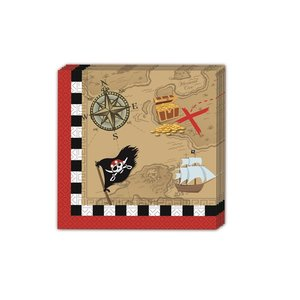 Piraten Schatzkarte (20er Set)