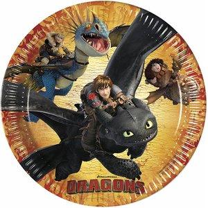 Dragons (8 pièces)