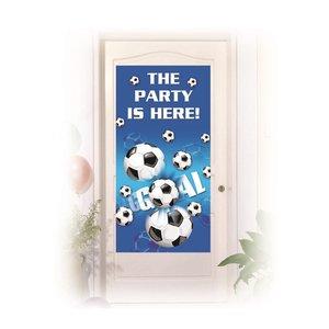 Football: Tür-Banner