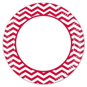 Red Chevron (8er Set)