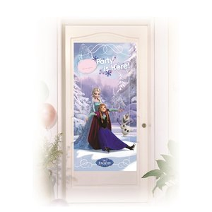 La Reine des neiges Ice Skating - decor de porte