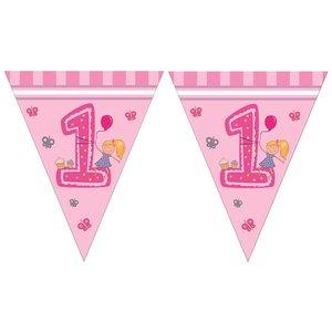 Girls First Birthday - Bandierine