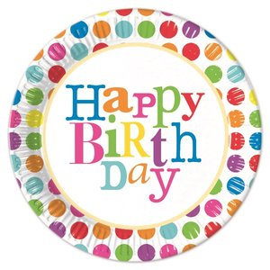 Happy Birthday Dots (8 pezzi)