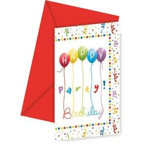 Happy Birthday Streamers (6 pezzi)