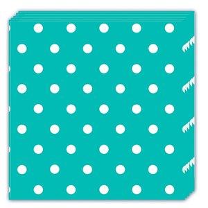 Turquise Dots (20er Set)