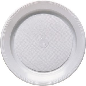 White - Bianco 20.5cm (10 pezzi)