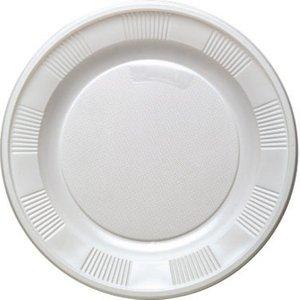 White - Bianco 17cm (10 pezzi)