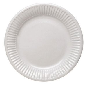 White - Weiss 23cm (10er Set)