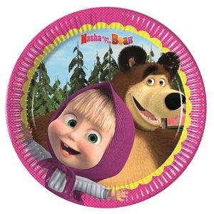 Mascha und der Bär (8er Set)