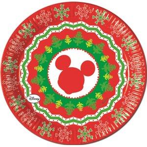 Mickey Christmas Nordic (8er Set)