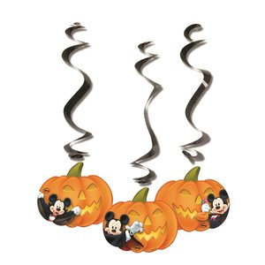 Mickey Halloween - Hanging Cut Outs
