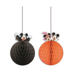 Mickey Halloween - Papierbälle (2er Set)